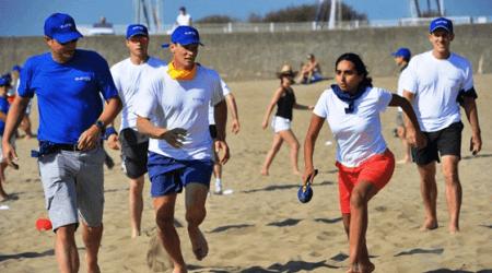Team Building plage de La Baule