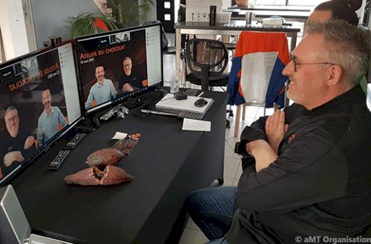 Cours de cuisine virtuel sur Zoom