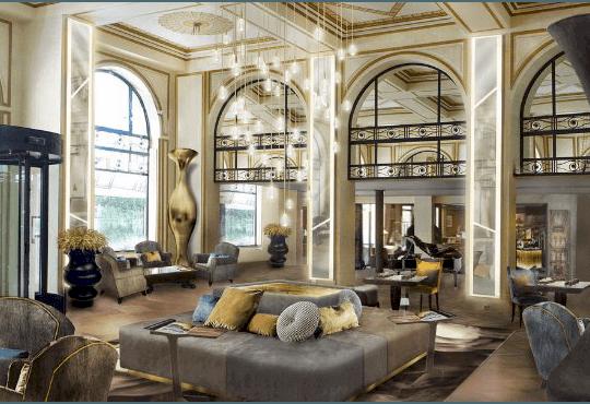 Hébergement hôtel de luxe séminaire entreprise