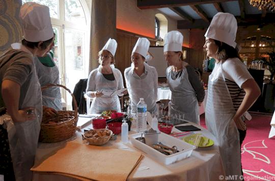 Activité cohésion cuisine Paris