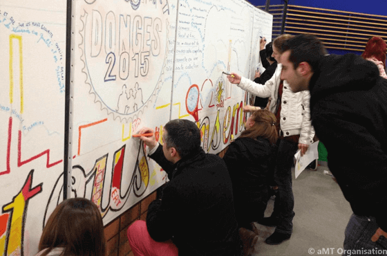 Team Building Fresque