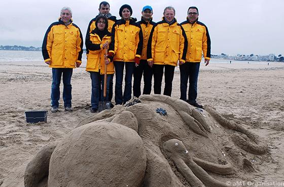 Challenge Sculpture sur sable