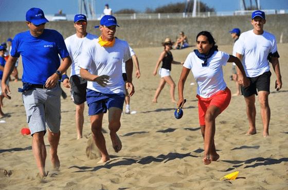 Olympiades sur la plage La Baule